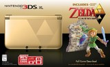 Nintendo 3DS XL -- Gold and Black Limited Edition Bundle with The Legend of Zelda: A Link Between Worlds (Nintendo 3DS)